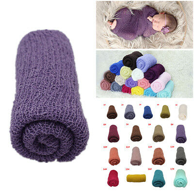 Newborn Baby Stretch Textured Knit Rayon Wrap Cocoon Photo Photography Prop SALE
