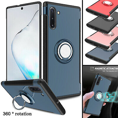 For Samsung Galaxy Note 8 Slim Ring Kickstand Shockproof Armor Phone Case Cover