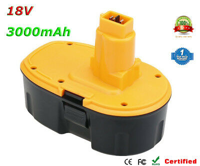 Ni-MH 18V 3.0Ah Battery for DeWalt DE9039 DE9095 DE9096 DE9098 DE9503 DC9096