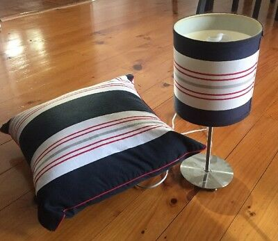 Lilly And Lolly Matching Lamp & Cushion Boys Bedroom