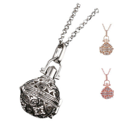 Ball Pendant Long Musical Sound Harmony Ball Necklace H9W8