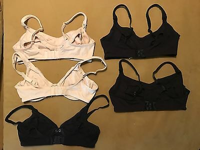 Mimi Maternity Nursing Breastfeeding Bra Lot of 5 36C