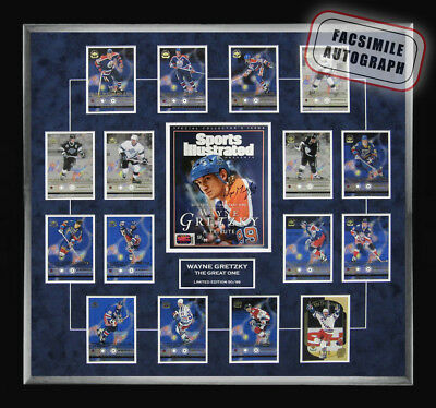 Wayne Gretzky Retirement Upper Deck Card Set -Ltd Ed of 99 - Facsimile Signed