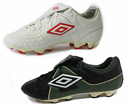 Kids Umbro Round Toe Lace Up Well Padded Football Boots - Jktkfg