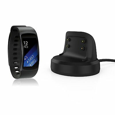 Gear Fit 2 Charger Dock, XIEMIN Replacement Charging Stand Cable Cradle for Gear