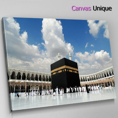 SC832 mecca grand mosque plaze Scenic Wall Art Picture Large Canvas Print