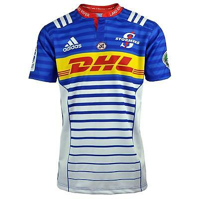 Stormers Rugby Union 2015 Mens Adidas Home Shirt Jersey Top 4XL 5XL
