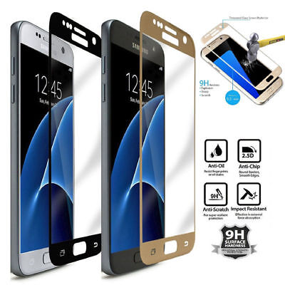 For Samsung Galaxy J3 J5 J7 2016/2017 Full Cover Tempered Glass Screen Protector
