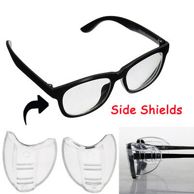 1 Pair Protective Covers Protector for Myopic glasses Goggles Side Shields Flap