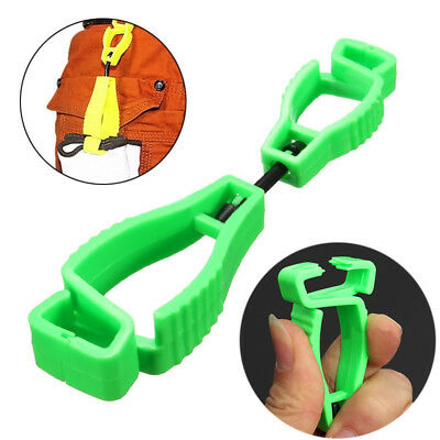 Plastic Clip Worker Gloves Guard Labor Work Clamp Safety Bracket AT-1 Type Clip
