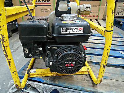 "Wacker Neuson Pt-2A Honda Petrol 2"" Trash Pump For Dirty Water Black"