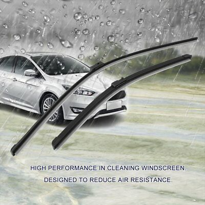 "Hot For Ford Focus C-Max 2003-2009 Windshield Front Wiper Blades Set 26"" + 19"" D"