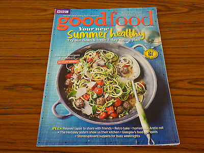 BBC Good Food: June 2015: Summer Healthy, 7-Day Eating Plan