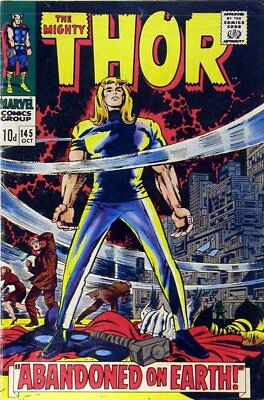 Thor (Vol 1) # 145 (FN+) (Fne Plus+) Price VARIANT Marvel Comics ORIG US