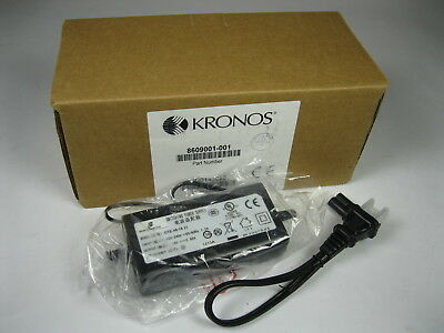 New Kronos Intouch 9000 Time Clock Power Adapter Ote-48-18 18V 2.66A