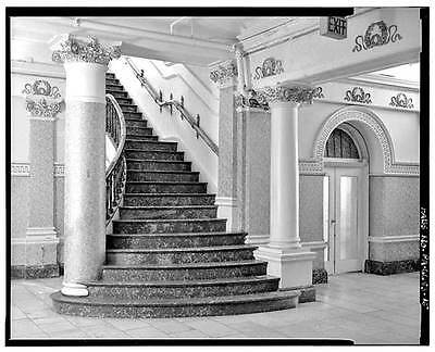 Reclaimed Set of Bronze and Onyx Stair Parts, Divine Lorraine Hotel, NHR4