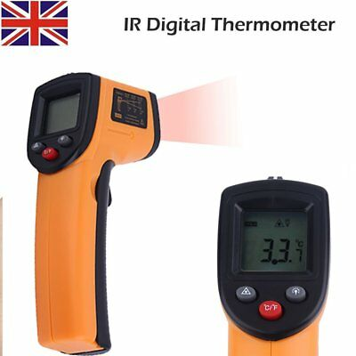 New Non-Contact Digital IR Infrared Thermometer Handheld Laser Temperature Gun