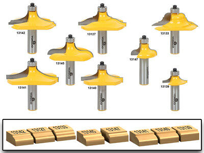 Yonico 14959 1-1//8-Inch Diameter Bowl /& Tray Template Router Bit 1//2-Inch Shank