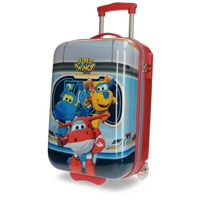 Valise trolley Super Wings 50 cm bagage cabine enfant Disney
