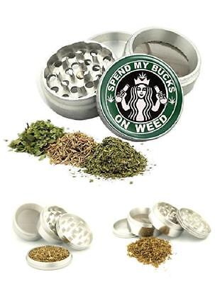 Heavy Duty Crusher Small Weed Marijuana Herb Spice Tobacco 42mm Aluminum Grinder