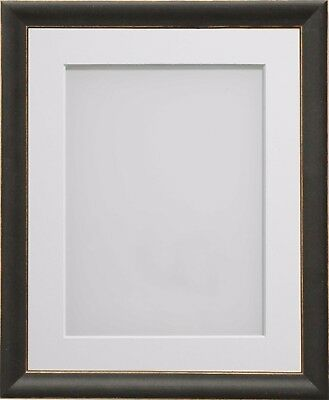 Frame Company Darcy Range Black Wooden Picture Photo Frames with Mount