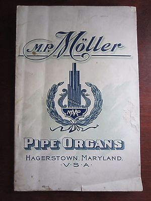 30's Era~32 Pgs~M.P. MOLLER PIPE ORGANS, Hagerstown MD~2 Manual Price $2500!~Spc