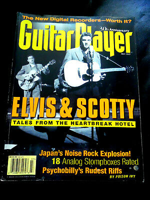 Vintage Guitar Player Magazine 30th Anniversary ELVIS Issue - July 1997