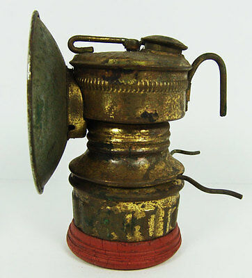 Miners Hat Light Lamp Shanklin Mfg Springfield Bumpergrip Guy's Dropper
