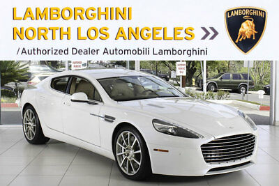 2015 Aston Martin Rapide S Sedan 4-Door 4-DOOR + BANG AND OLUFSEN + HEATED/COOLED SEATS + V12 + REAR SEAT ENT + 8-SPEED