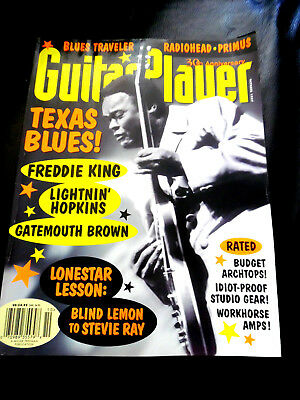 Vintage Guitar Player Magazine - TEXAS BLUES - October 1997