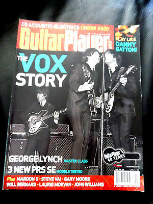 Vintage Guitar Player Magazine - THE VOX STORY - October 2007