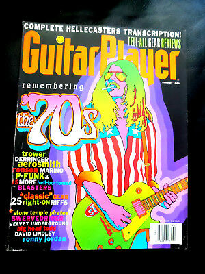 Vintage Guitar Player Magazine - THE BITCHIN YEARS - February 1994