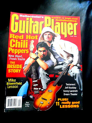 Vintage Guitar Player Magazine - RED HOT CHILI PEPPERS - April 1995