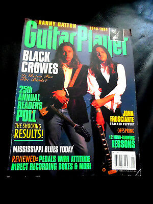 Vintage Guitar Player Magazine - BLACK CROWES - January 1995