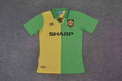 1992-1994 Manchester United Away Retro Classic Soccer Football Shirt Jersey Kit