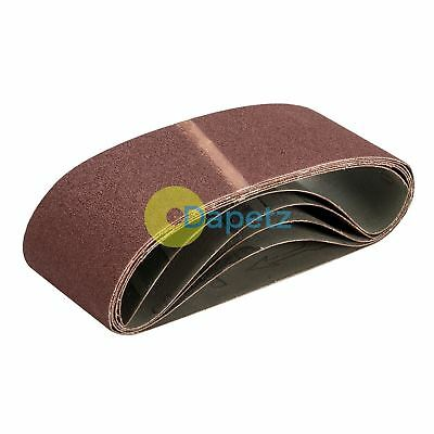 80 Grit Sanding Belts 75 X 480mm 5Pk - Sanding Belts