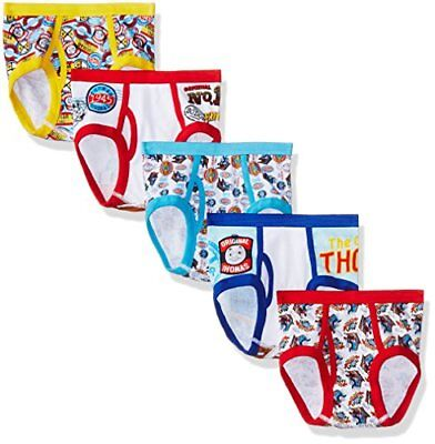 Thomas the Train Little Boys' Friends 5pk Underwear, Assorted, 6 New
