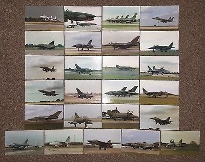 25 Limited Edition Postcards Aviation Military RAF Bombers Fighters Helicopters