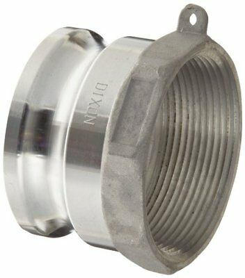 "Dixon G300-A-AL Aluminum A380 Global Type A Cam and Groove Hose Fitting, 3"" Plug"