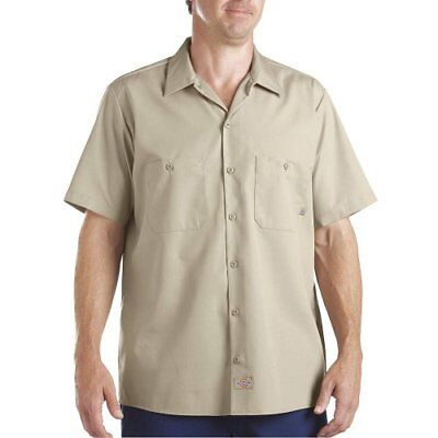 Dickies Occupational Workwear LS535DS 2XL Polyester/ Cotton Men's Short Sleeve