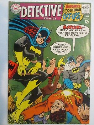 Dc Comics Detective Comics #371 1968 4.0 Vg Very Good 1St App Tv Show Batmobile