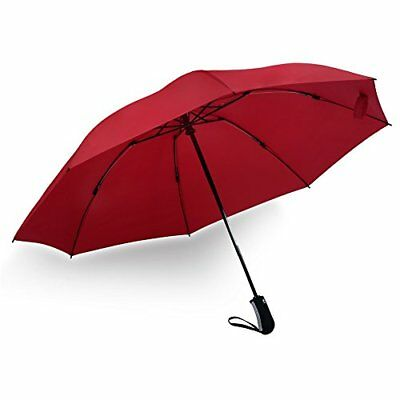 Inverted Reverse Folding Travel Umbrella Automatic Lightweight Compact Portable