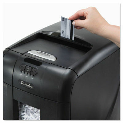 Swingline 1757571 Stack-And-Shred Auto Fd Super Cross-Cut Shredder 130 Sheet new