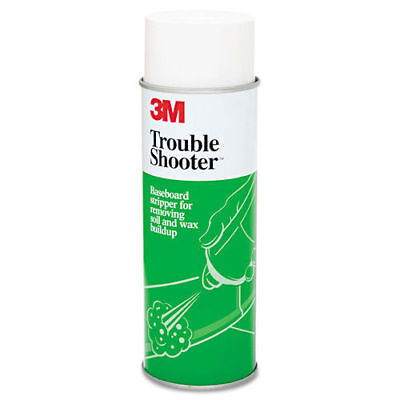3M Troubleshooter Baseboard Stripper, 21oz, Aerosol, 12/carton 14001 NEW