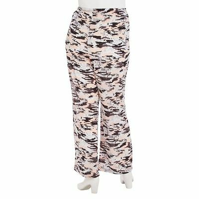 b47fb7eadc657 FUCHSIA REALTREE FLANNEL Pajama Lounge Pants Pink Camouflage Plus ...