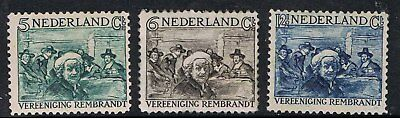 Netherlands 1930 Surtax For Rembrandt Society