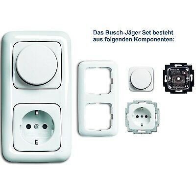 busch jaeger 6523 u 102 busch drehdimmer busch dimmer up drehdimmer eur 45 00 picclick nl. Black Bedroom Furniture Sets. Home Design Ideas