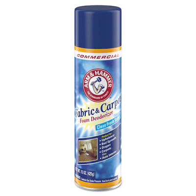 Arm & Hammer Fabric/Carpet Foam Deo Fresh Scent 15oz 8/ctn 3320000514CT NEW