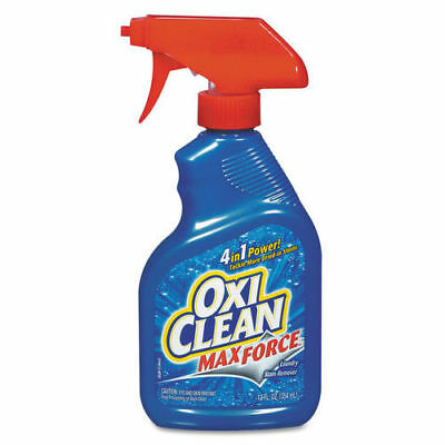 Arm & Hammer Max Force Stain Remover, 12oz Spray Bottle, 12/ctn 5703700070CT NEW