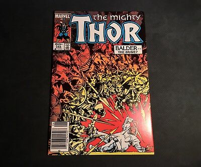 Marvel's Thor #344 1st Appearance of Malekith the Accursed !